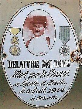 Photo du Mémorial du cimetière de Vouillé, communiquée par la mairie de Vouillé
