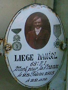 Memorial du cimetière de Vouillé, photo confiée par la mairie de Vouillé