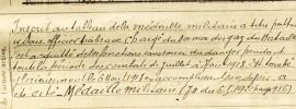 AD24 - Perigueux 1900 - Fiche matricule 1809
